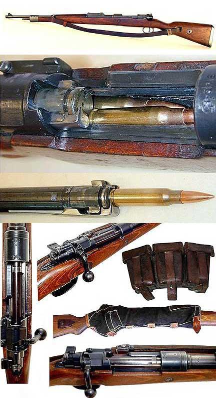 kar98 detail zbraně